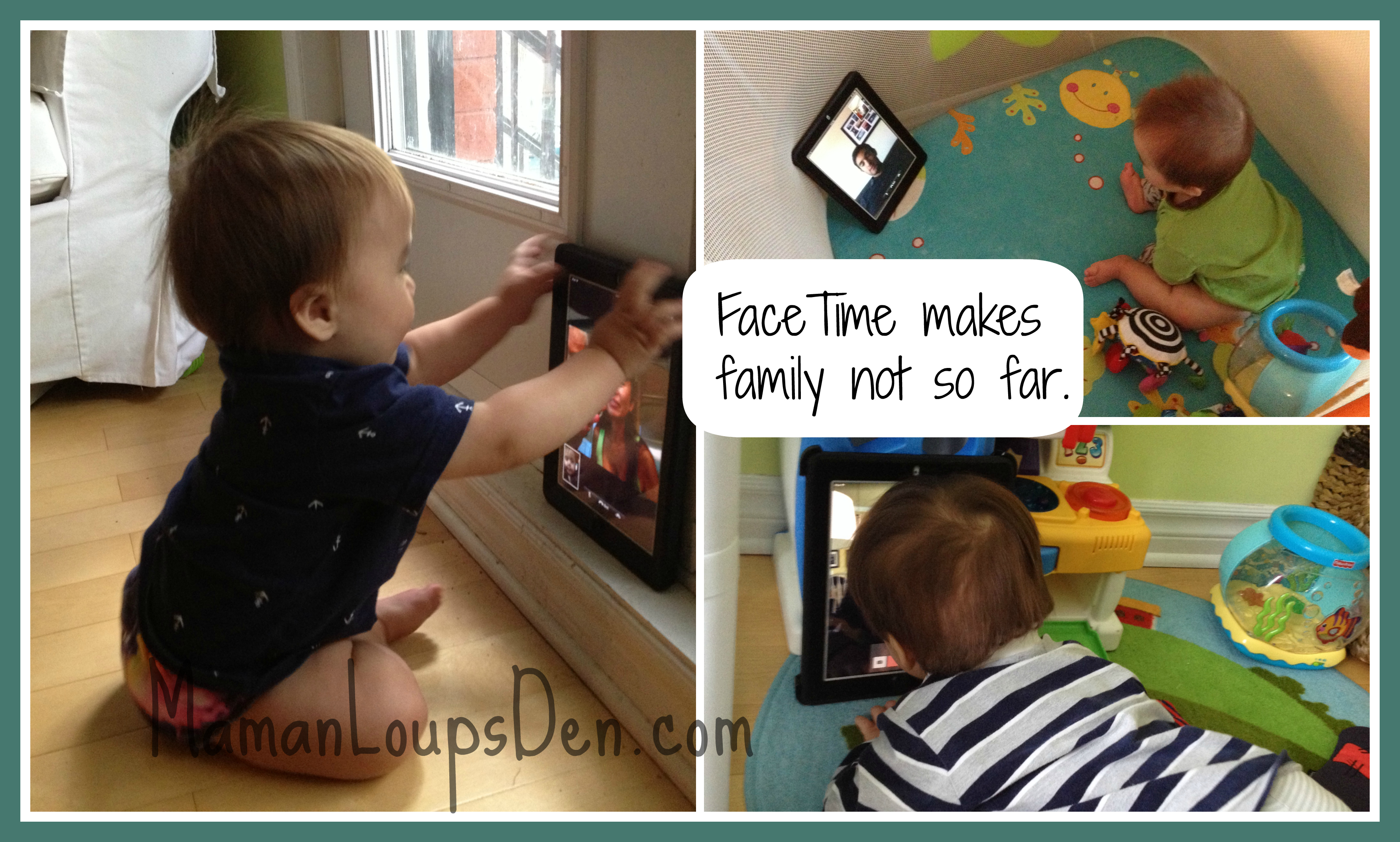 FaceTime is Family Time!