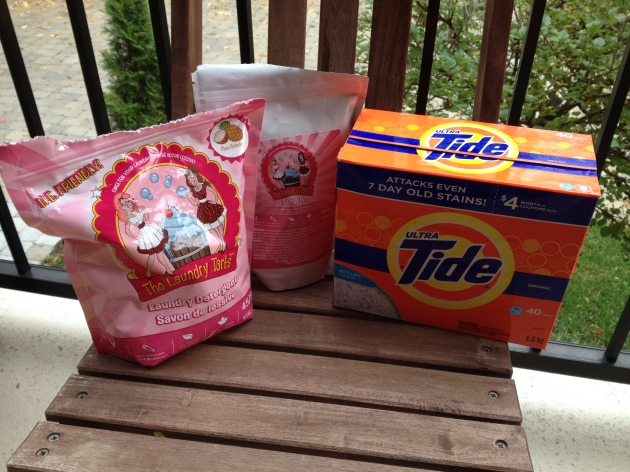Laundry Tarts vs. Tide, The Ultimate Showdown