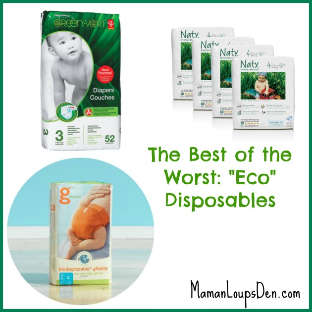Reviews of Eco-Disposable Diapers