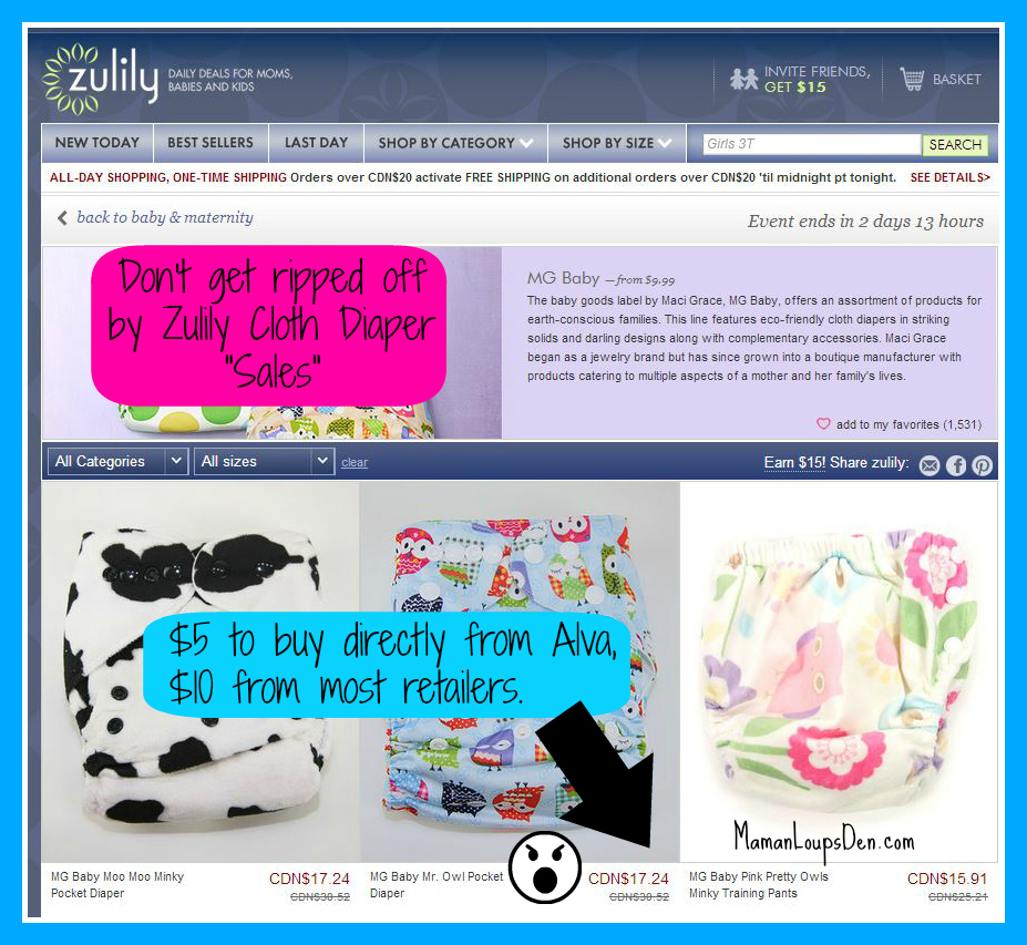 Don't get ripped off at Zulily!