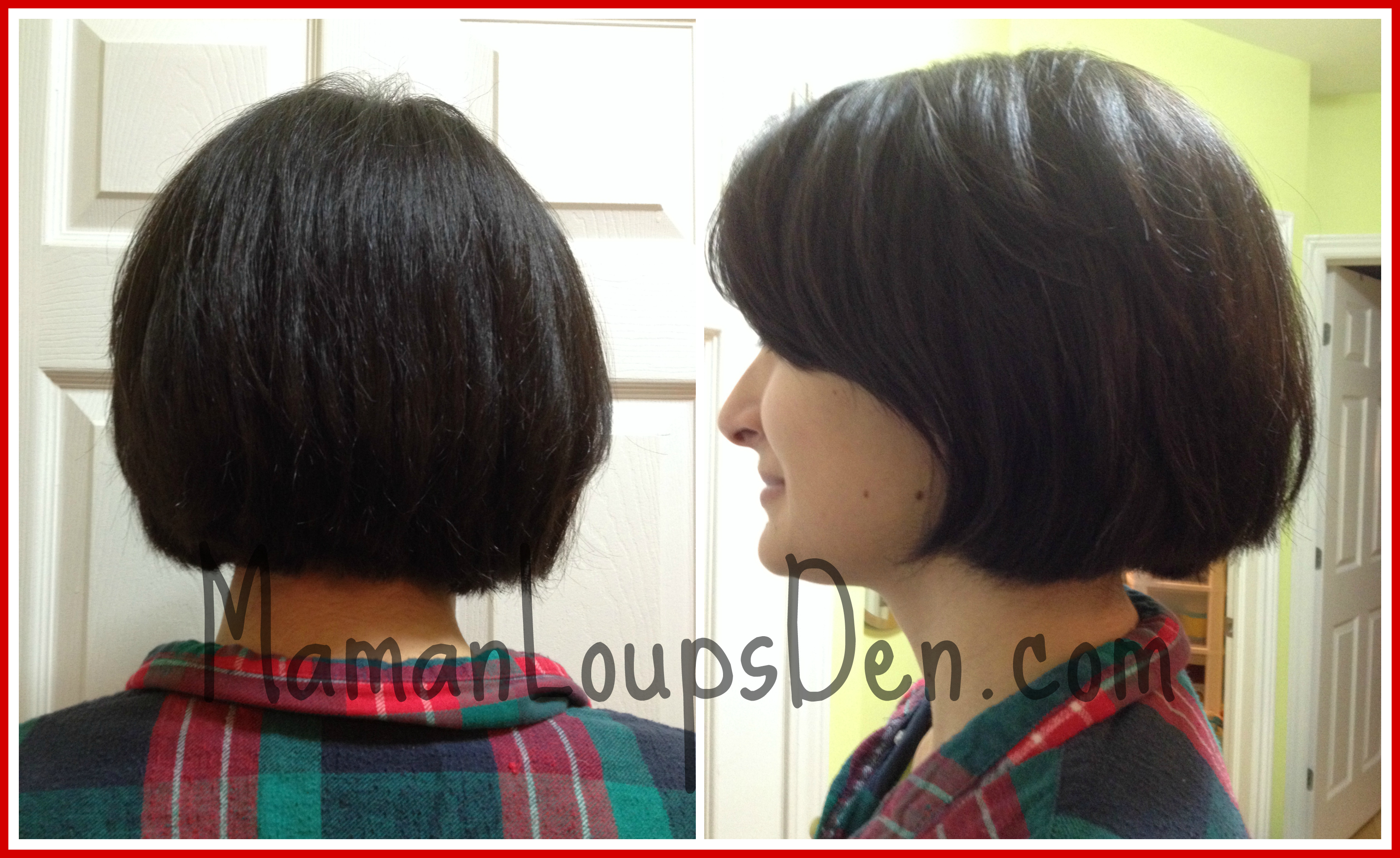Easy maintenance short hair