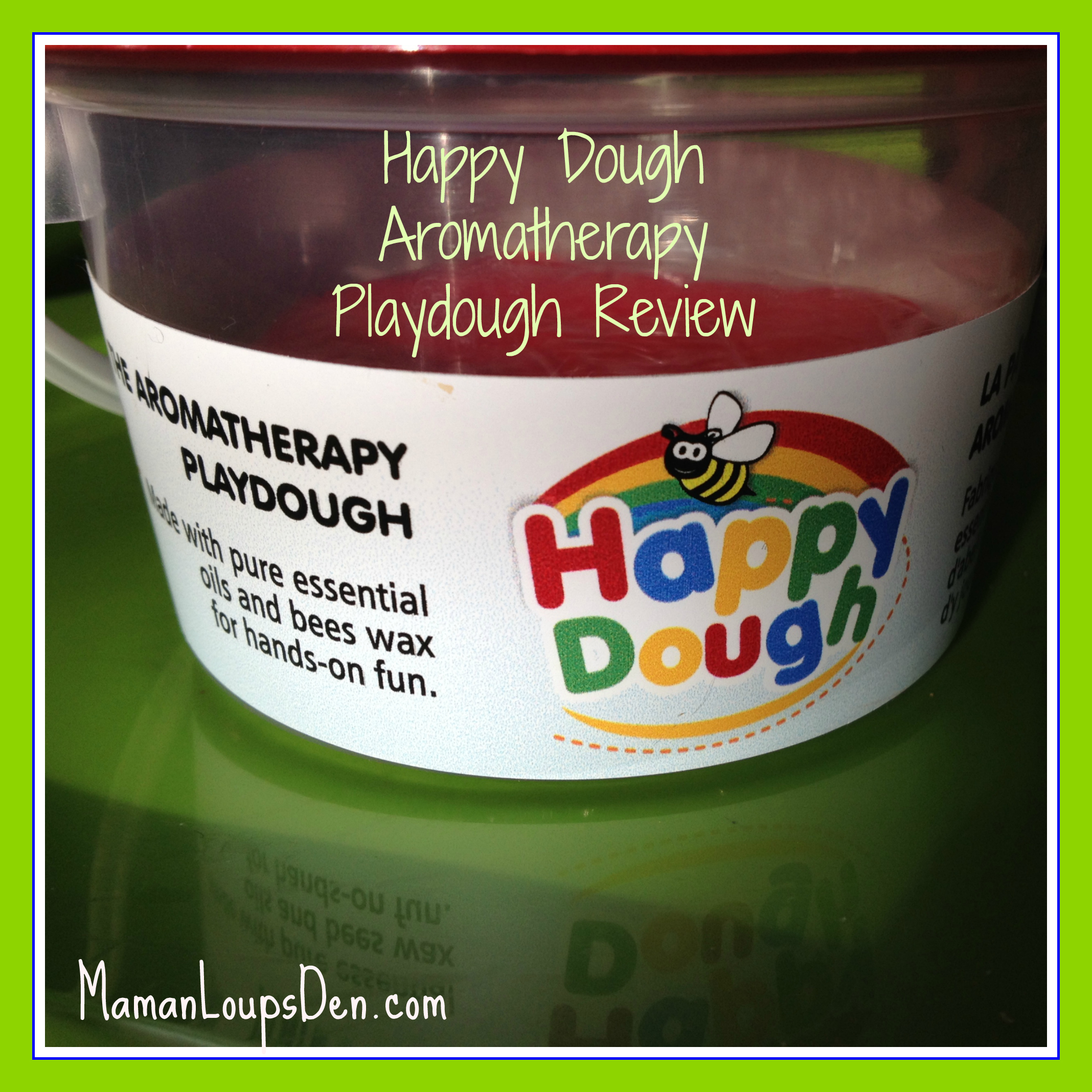 Happy Dough Aromatherapy Play Dough Review
