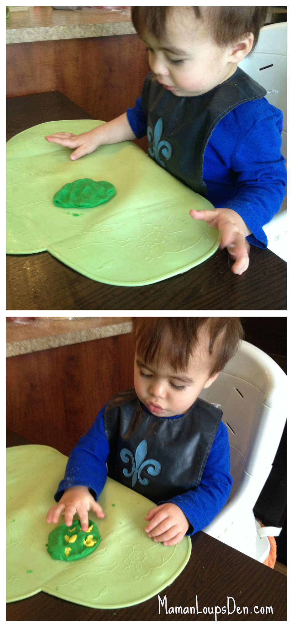 happy dough aromatherapy play dough