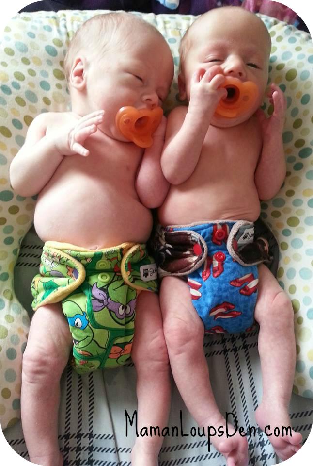 Put them on newborns