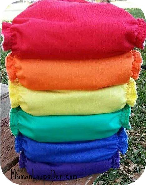 Diaper rainbow