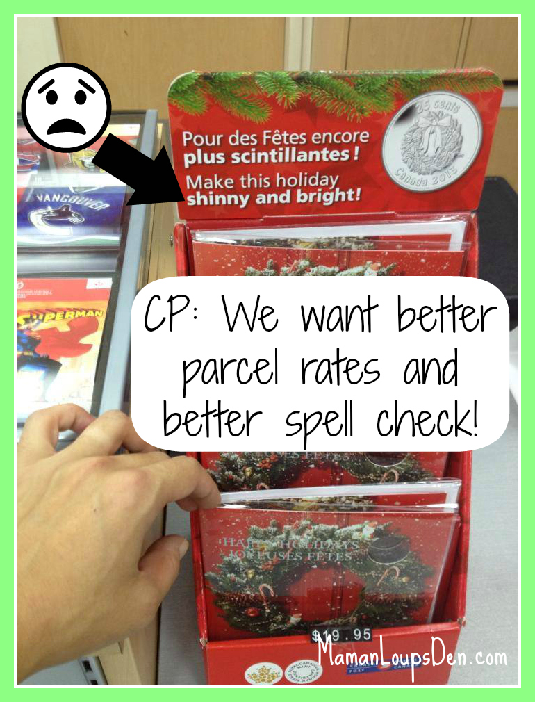 CP: cheaper parcel rates please!