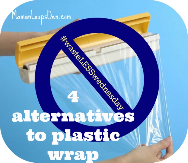 4 alternatives to plastic wrap
