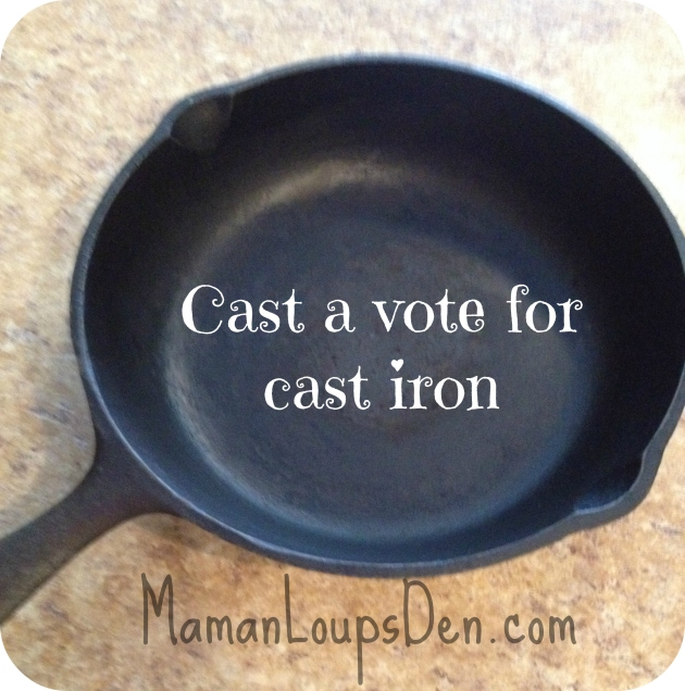 cast a vote for cast iron