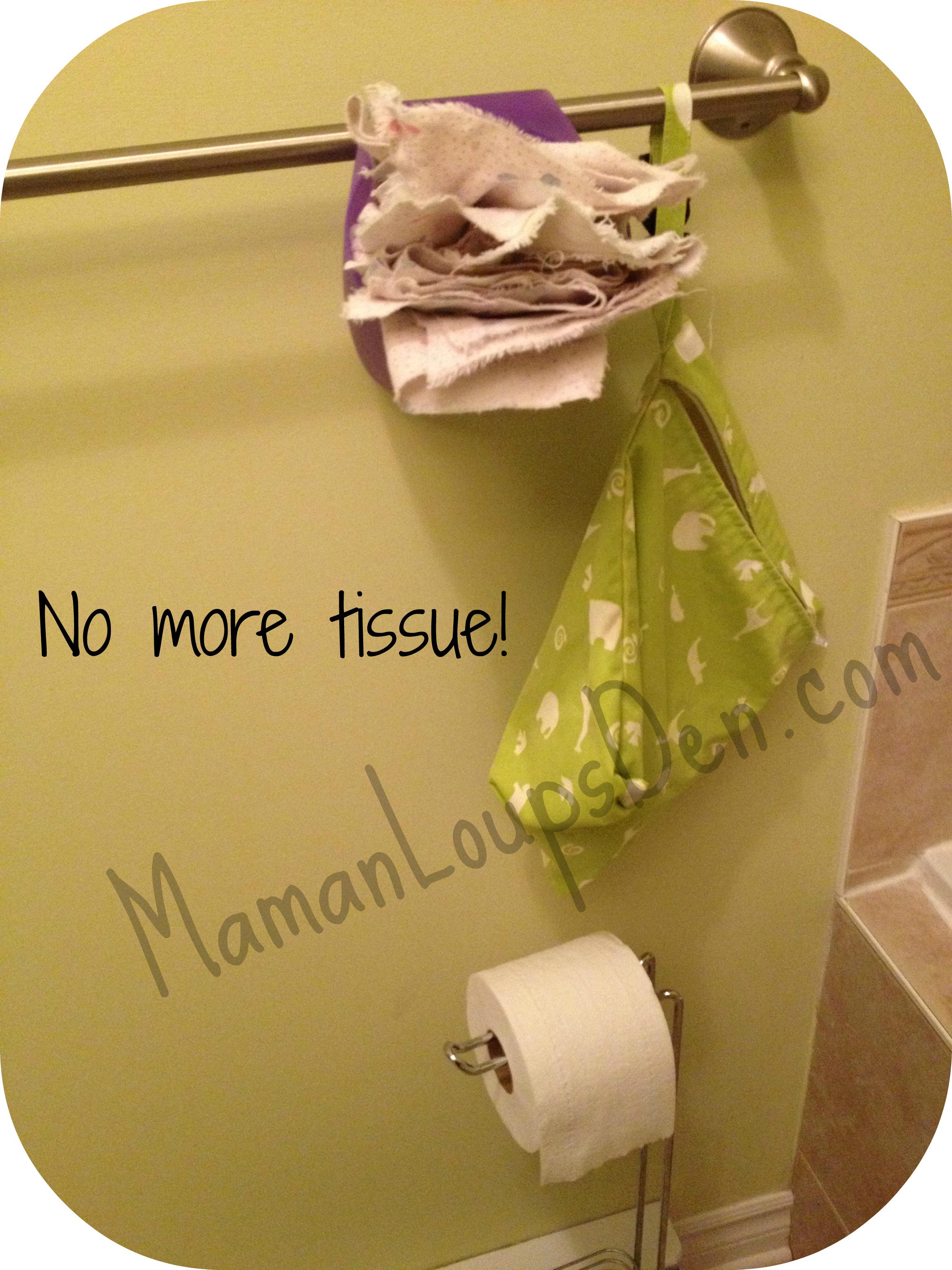 Alternative to kleenex and toilet paper