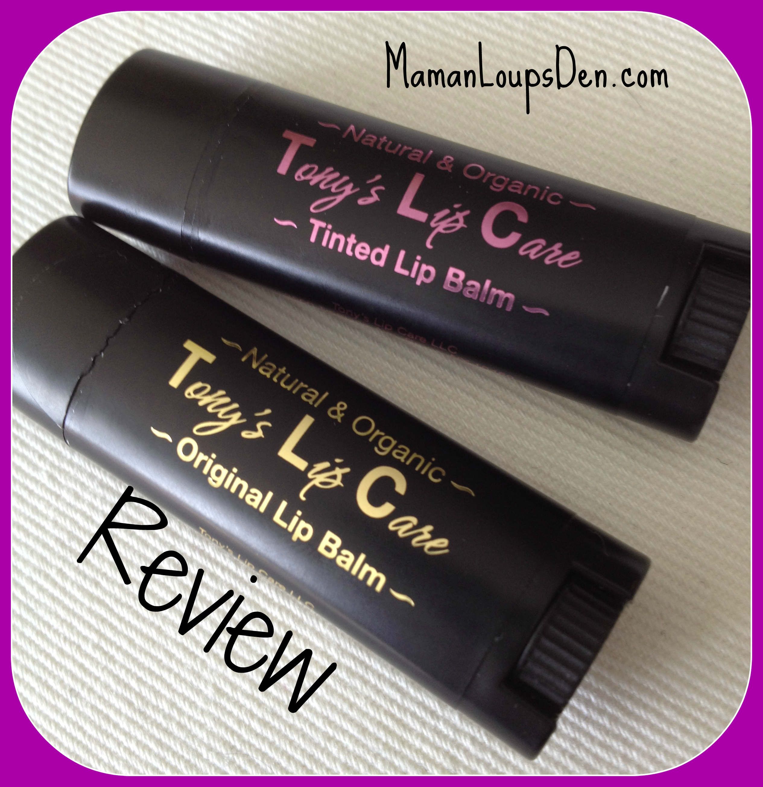 Tony's Lip Care Review