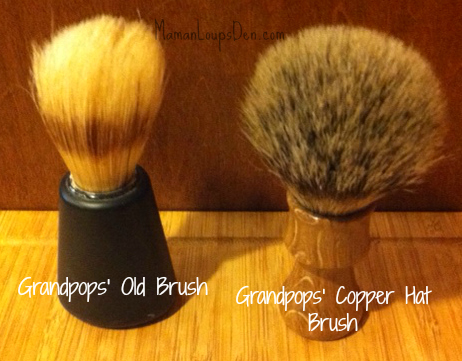 old brush new brush