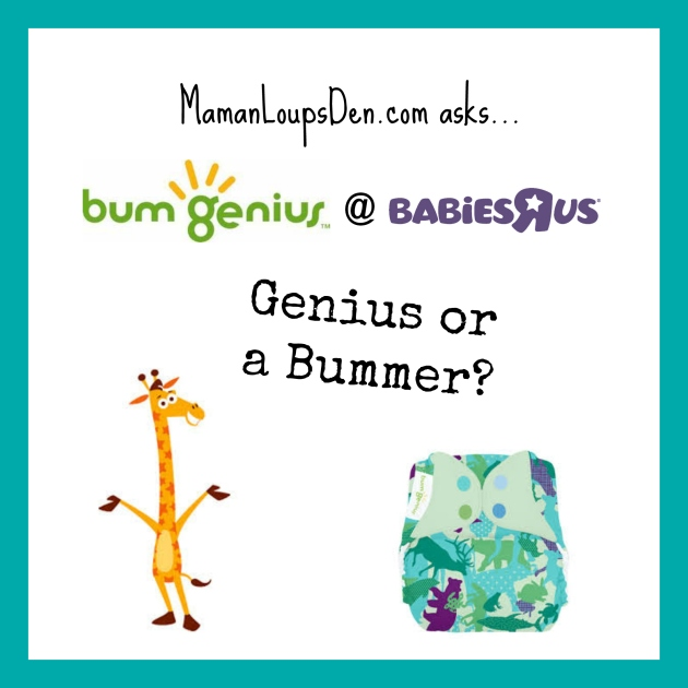 BumGenius at Babies R Us Genius or Bummer