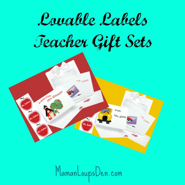 Lovable Labels Teacher Gift Sets
