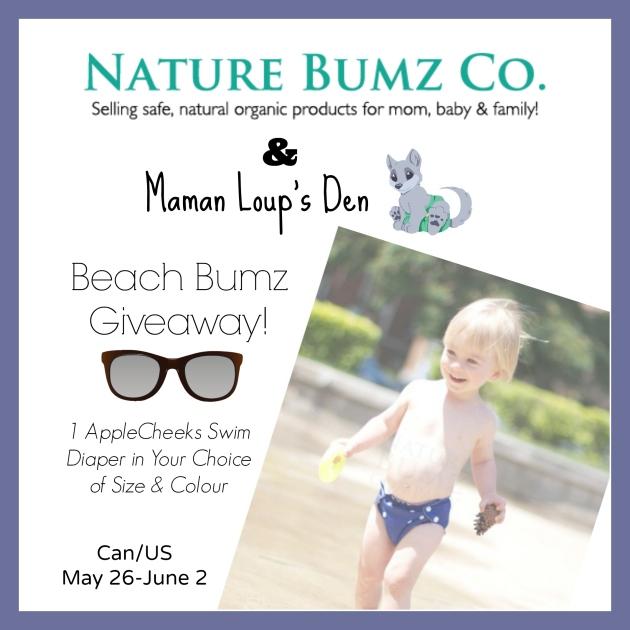 Nature Bumz Maman Loup's Den Beach Bumz Giveaway