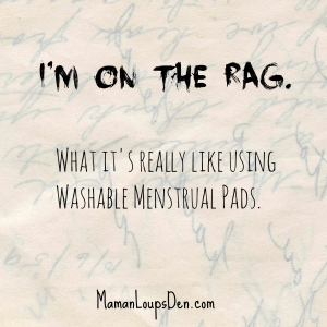 What it's really like using washable menstrual pads