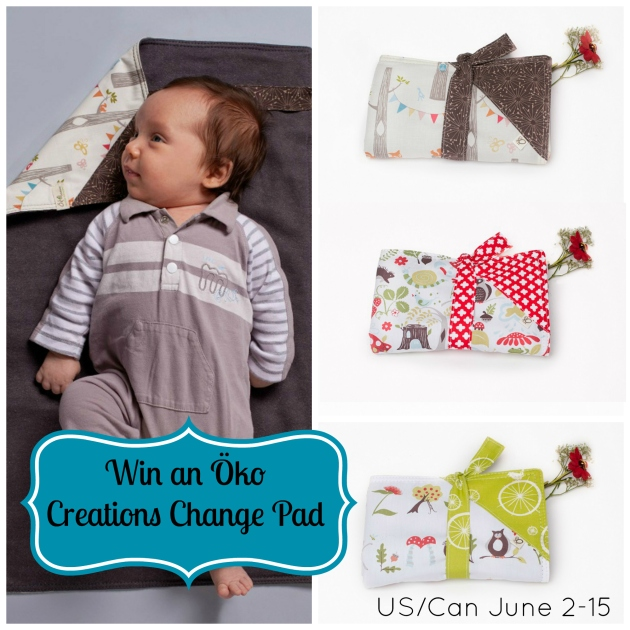 Win an Oko Creations Change Pad
