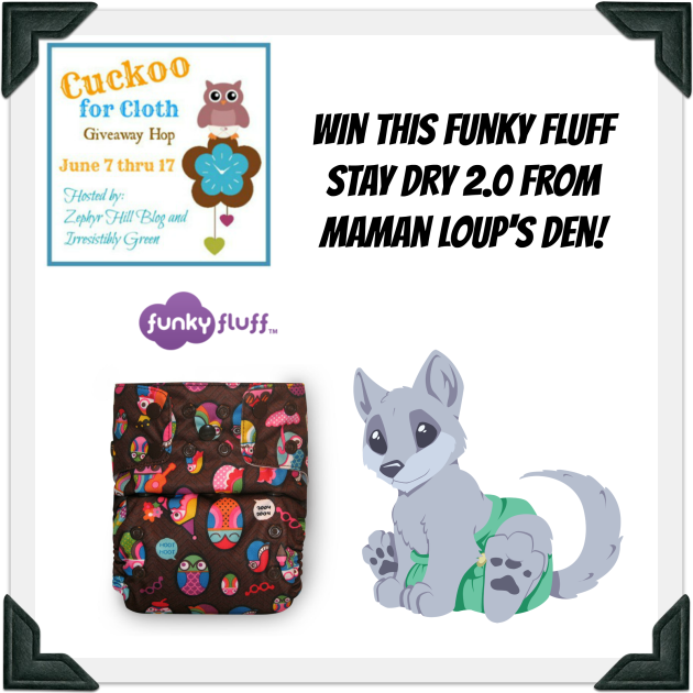 Cuckoo for Cloth Maman Loup Prize