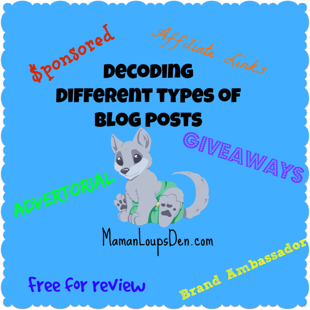 decoding different types of blog posts
