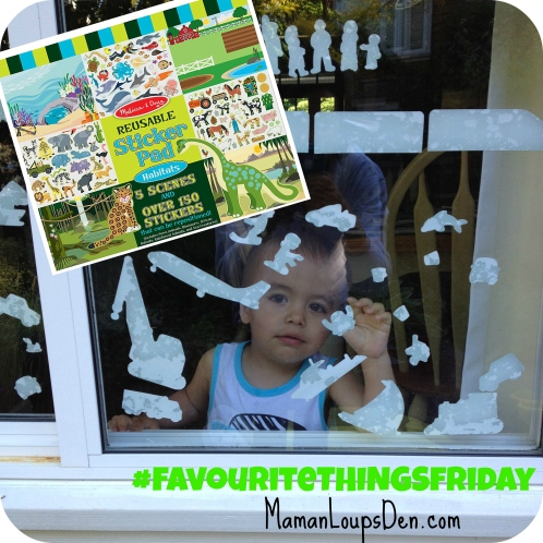 favourite things Friday Melissa and Doug Reusable Sticker Pads