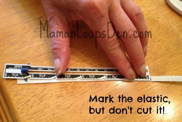 Mark elastic