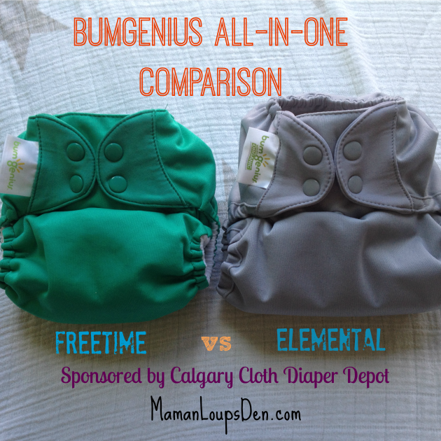 BumGenius All-in-One Diaper Options: Elemental vs. Freetime