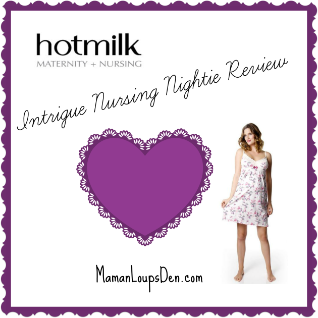 intrigue nursing nightie